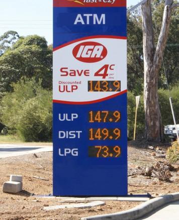 LED Petrol Price Displays