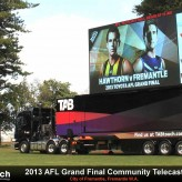 Big Screen for the 2013 AFL Grand Final