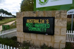 Outdoor LED Message Signs - Community Board