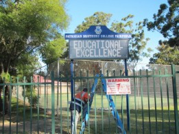 Outdoor School LED Sign