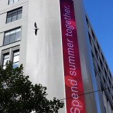Telstra Melbourne LED Screen
