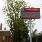 Beckenham School - LED Message Sign