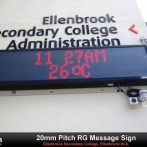 Ellenbrook College LED Message Sign for web