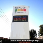 Total GP LED Message Sign